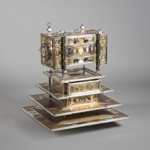 Furniture  - Cabinet, creation of the silversmith Daniel Arnoul