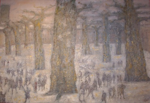 The break, 1963 - René Jean Clot (1913-1997) - Paintings & Drawings Style