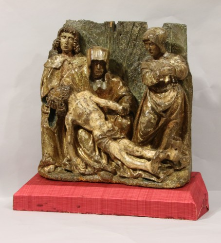 11th to 15th century - A Gothic flemish Lamentation group