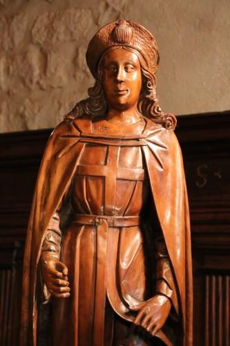 Sculpture  - Wood figure of Saint Roch