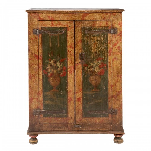 Small spanish polychrome cabinet