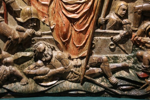 - Exceptional Sculpture depicting the Resurrection of Christ