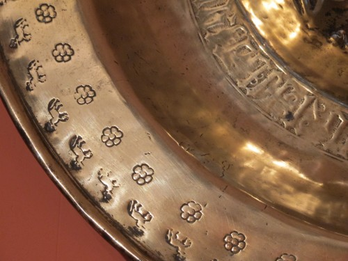 Religious Antiques  - Brass alm dish