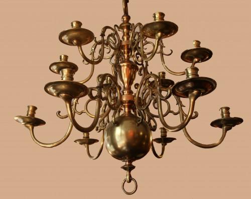 Louis XIII dutch chandelier - Lighting Style Louis XIII