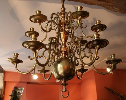 Lighting  - Louis XIII dutch chandelier
