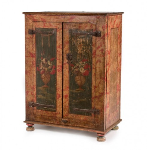 Small spanish polychrome cabinet - Furniture Style
