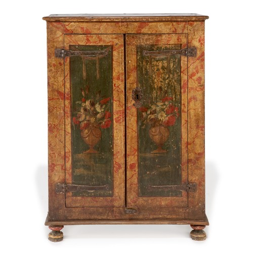 Furniture  - Small spanish polychrome cabinet