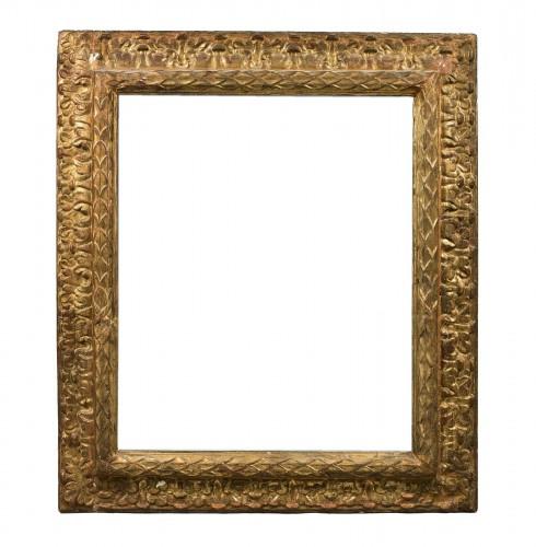 Large carved and gilt wood frame