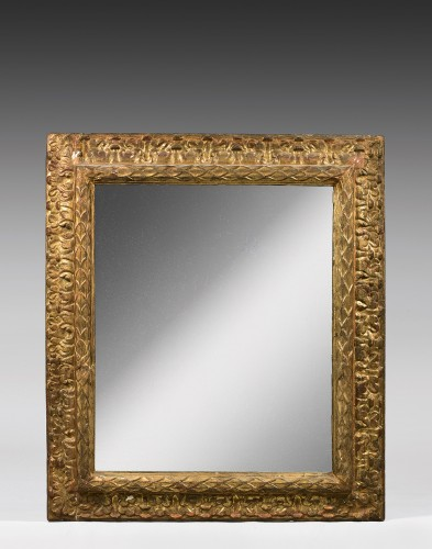Mirrors, Trumeau  - Large carved and gilt wood frame