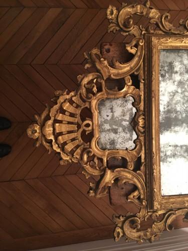 Mirrors, Trumeau  - Large venitian mirror