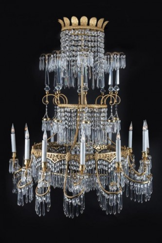 Chandelier from Berlin, Circa 1840