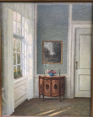 Danish Interiors with a commode