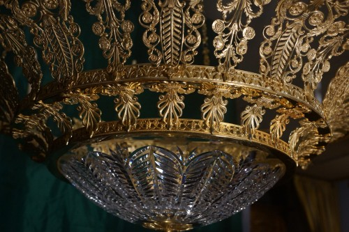 Large Chandelier in Russian Empire style -