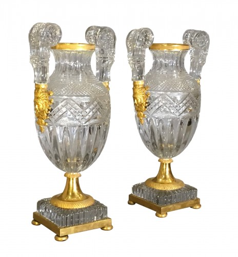 Pair of Russian Imperial Vases