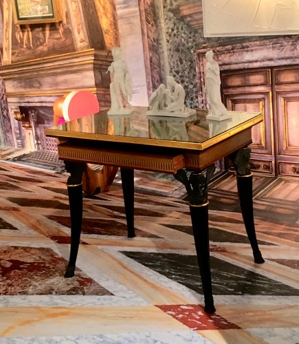 Furniture  - Central Table, replica from Pavlovsk Palace Eglomised top