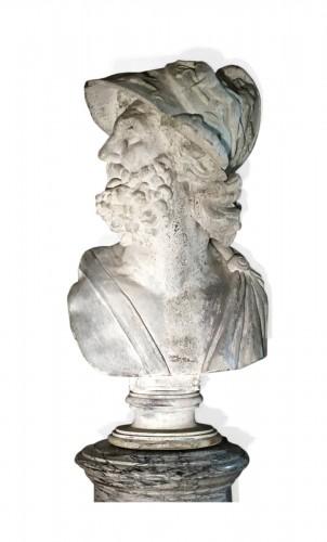 Rare Bust of Menelas