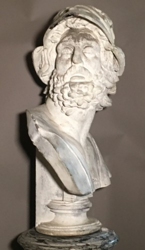 Sculpture  - Rare Bust of Menelas