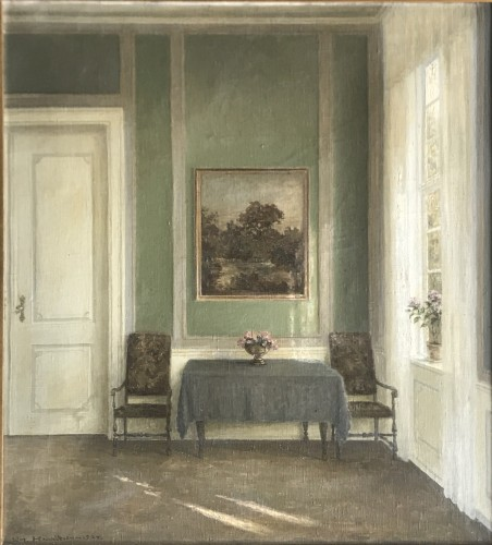 Large Danish Interior -  Wilm Henriksen, 1924