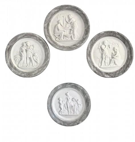 Rare set of «Four Seasons of Life, After Thorvaldsen