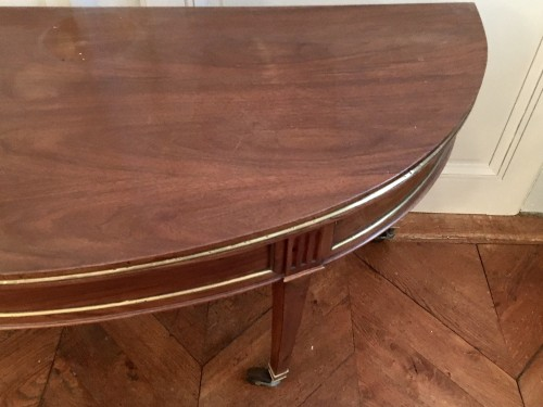 Furniture  - Directoire table in walnut