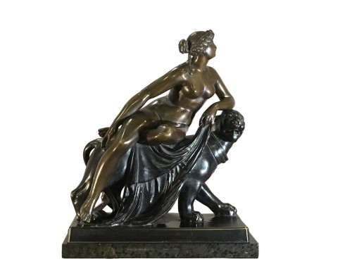 «  Ariadne on Panther » Bronze after marbre original of wJ. H. Danneker