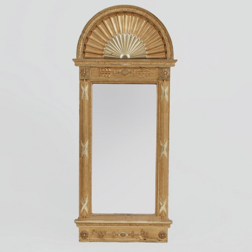 Furniture  - Consoltable and mirror on Delphins, Sweden, circa 1800