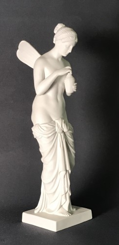 «Psychée» after Thorvaldsen - Biscuit Bing&Grondall  Factory - Porcelain & Faience Style Napoléon III