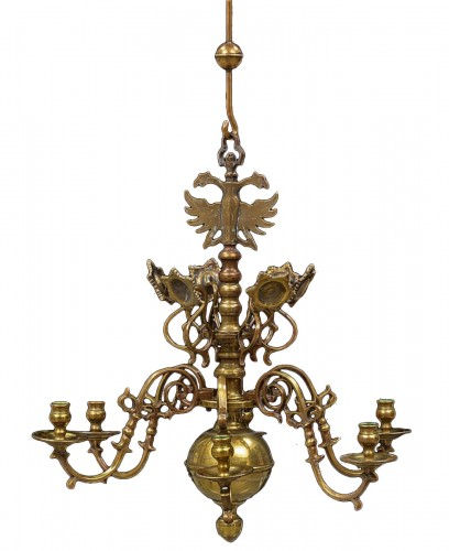 Chandelier Dutch  Barocco  Style, 6 lights , 18th cent.