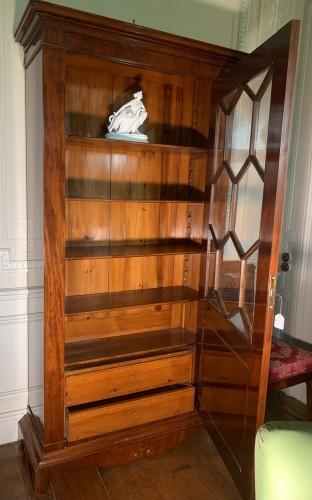 Furniture  - Bookcase in Light mahogany, Sweden, circa 1840