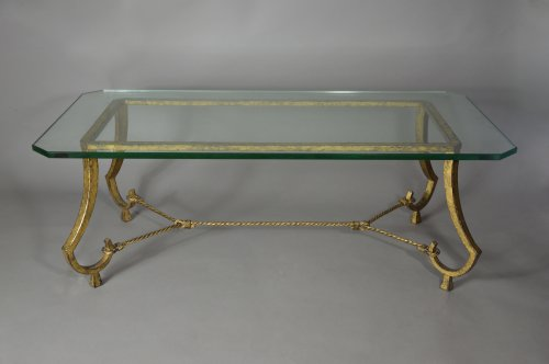 Maison Ramsay - Pair of coffee tables, France circa 1960 - Furniture Style 50