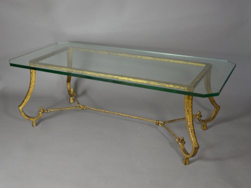 Furniture  - Maison Ramsay - Pair of coffee tables, France circa 1960