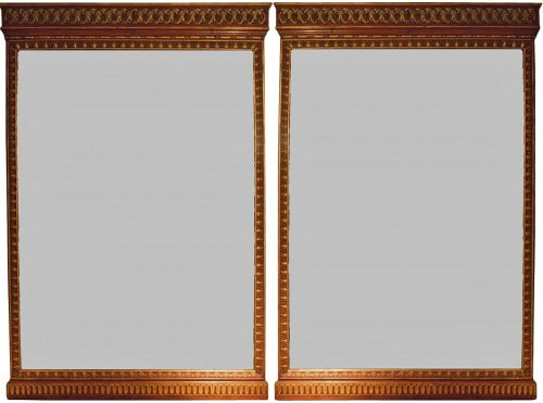 Pair of italian Mirrors, late 17th century