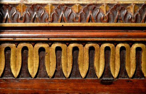 Pair of italian Mirrors, late 17th century - Mirrors, Trumeau Style