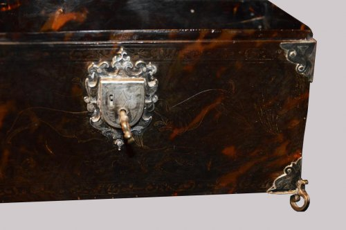 Casket Spanish Colonies, Probably Mexico  -