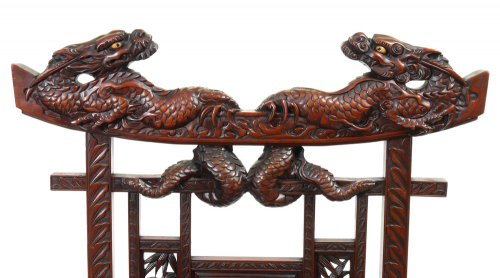 Asian Art & Antiques  - Pair of Armchairs, Japan