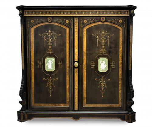Side Cabinet - Attributed to Wrighht And Mansfield