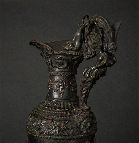 Bronze ewer, late 19th century -