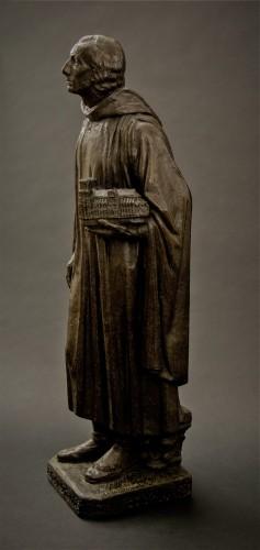 Sculpture  - Henri Bouchard (1875-1960) Jehan de Chelles ou Jean de Chelles