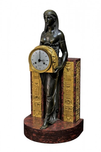 Egyptian clock - André-Antoine Ravrio (1759-1814)