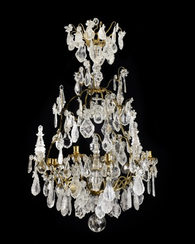 Rock crystal Chandelier - Lighting Style