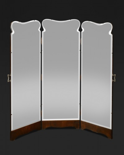Triptych of mirrors - Mirrors, Trumeau Style Art nouveau