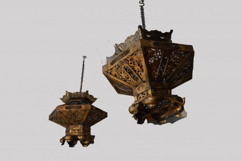 Lighting  - Japanese pair of lanterns