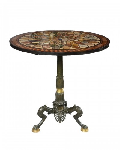 Pedestal table circa 1840