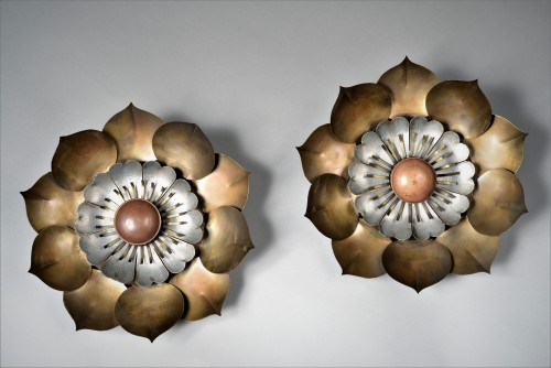 Pair of wall light