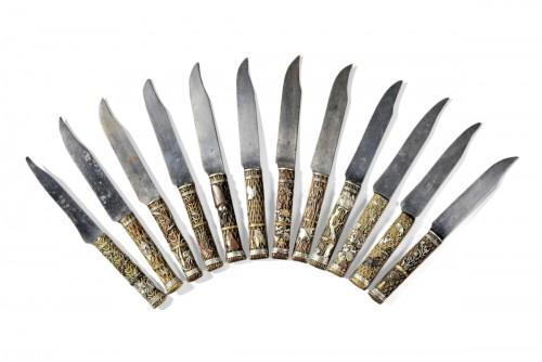 Série de couteaux japonais