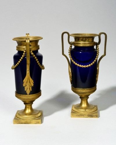 Pair of vases - Decorative Objects Style Louis XVI