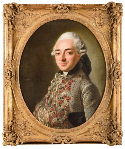 François-Bruno Deshays de Colleville (1732–1815) - Portrait of a gentleman
