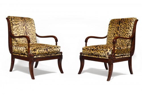 Maison Jansen, Pair of armchairs