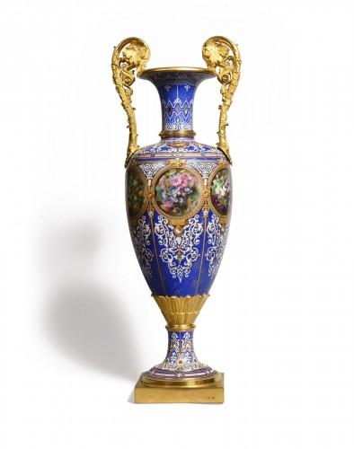 Sèvres porcelain vase, 1848