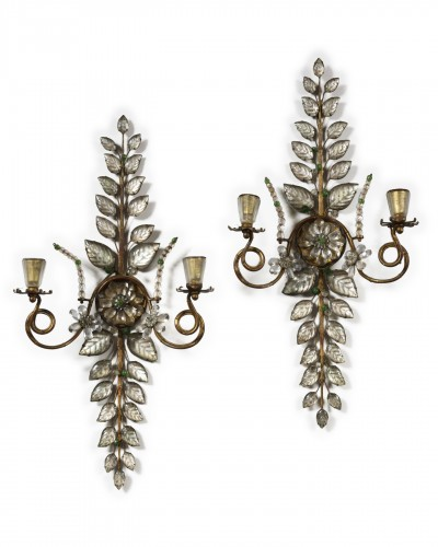 Pair of wall lights - Bagues